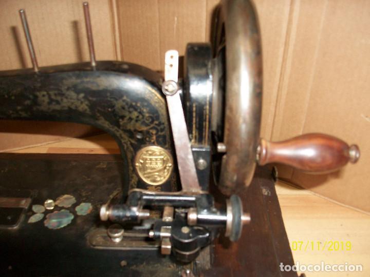 Antigüedades: ANTIGUA MAQUINA DE COSER FRANCESA-FUNCIONA - Foto 2 - 171029437
