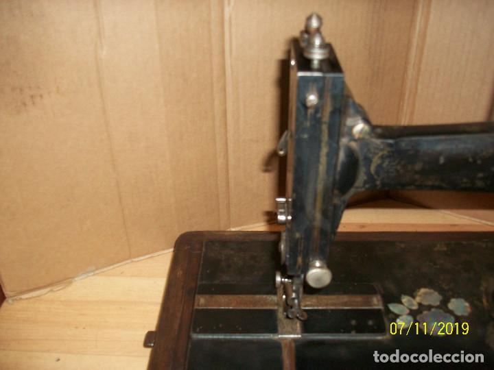 Antigüedades: ANTIGUA MAQUINA DE COSER FRANCESA-FUNCIONA - Foto 3 - 171029437