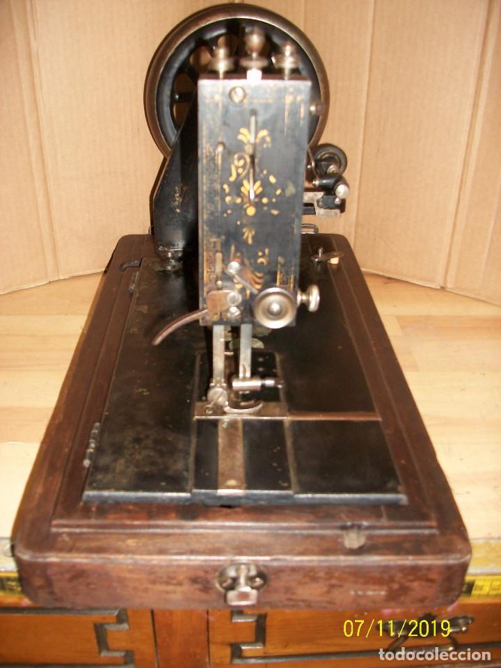 Antigüedades: ANTIGUA MAQUINA DE COSER FRANCESA-FUNCIONA - Foto 4 - 171029437