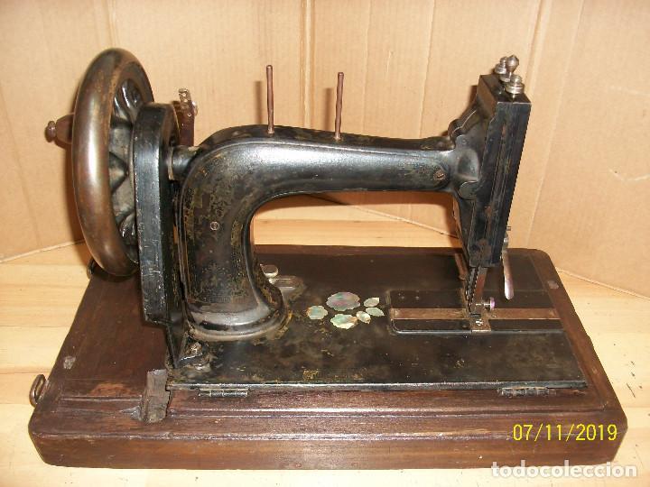 Antigüedades: ANTIGUA MAQUINA DE COSER FRANCESA-FUNCIONA - Foto 5 - 171029437