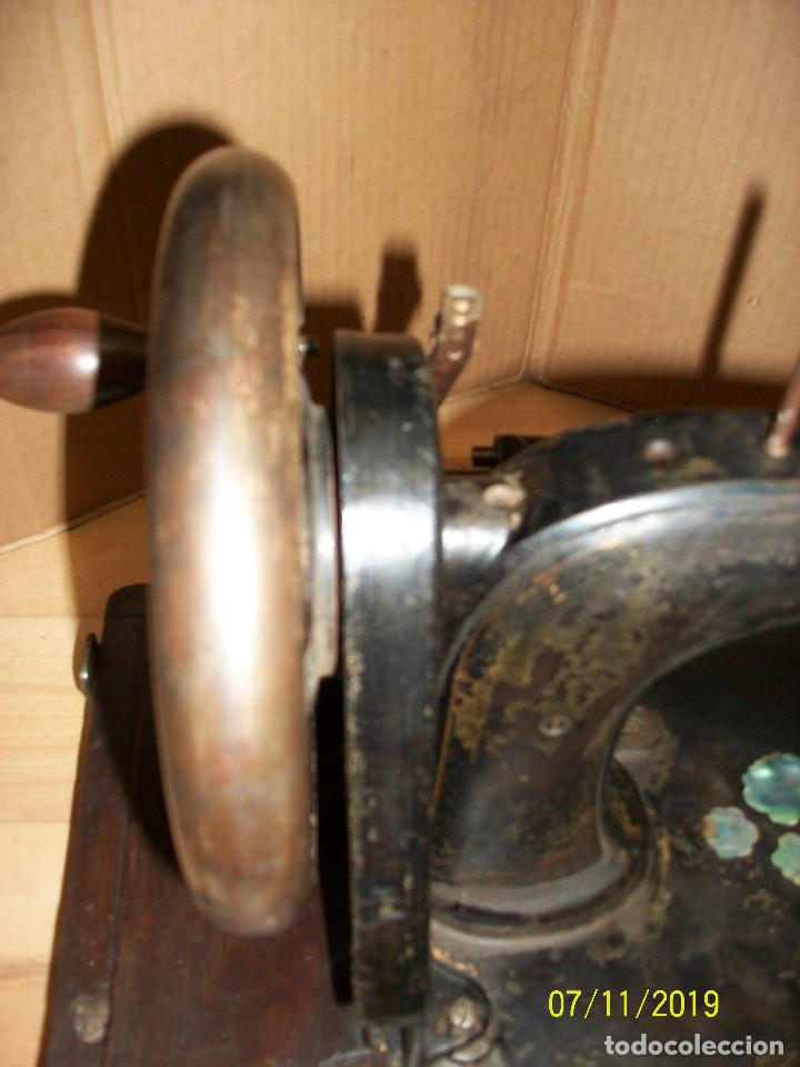 Antigüedades: ANTIGUA MAQUINA DE COSER FRANCESA-FUNCIONA - Foto 6 - 171029437