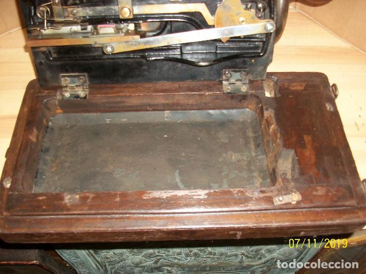 Antigüedades: ANTIGUA MAQUINA DE COSER FRANCESA-FUNCIONA - Foto 8 - 171029437