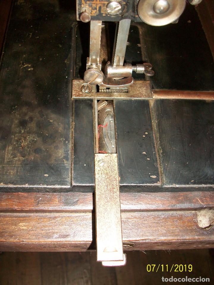Antigüedades: ANTIGUA MAQUINA DE COSER FRANCESA-FUNCIONA - Foto 10 - 171029437