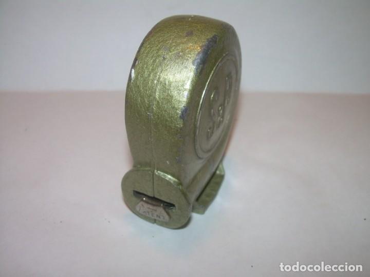 Antigüedades: ANTIGUA CINTA METRICA METALICA. - Foto 2 - 171029489