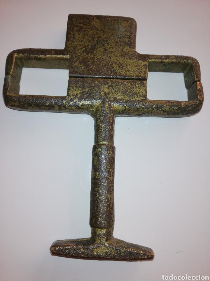 Antigüedades: Candado de bronce raro - Foto 4 - 171219448