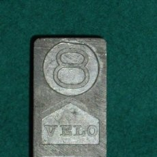 Antigüedades: MOLDES DE METAL - VELO SAMART. Lote 171221248