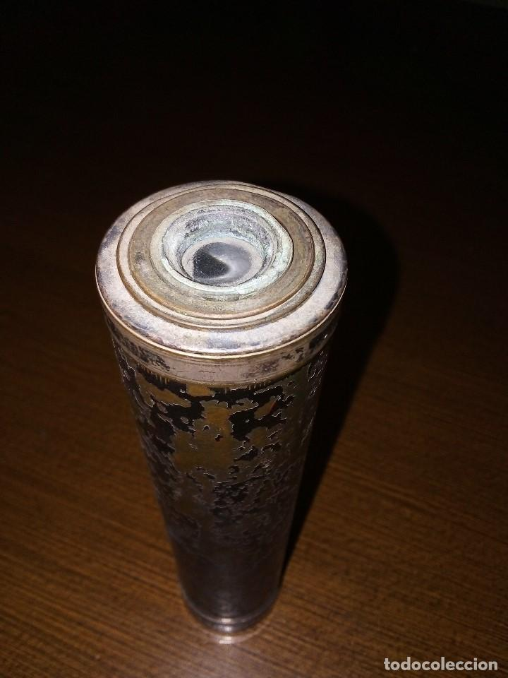 Antigüedades: CATALEJO, ANTIGUO, MIDE 19 C.M. CERRADO Y 49 C.M ABIERTO, VER FOTOS - Foto 6 - 171260573