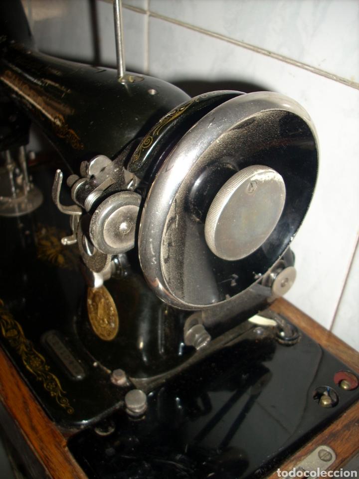Antigüedades: Maquina de Coser Singer con Motor. - Foto 5 - 171262982