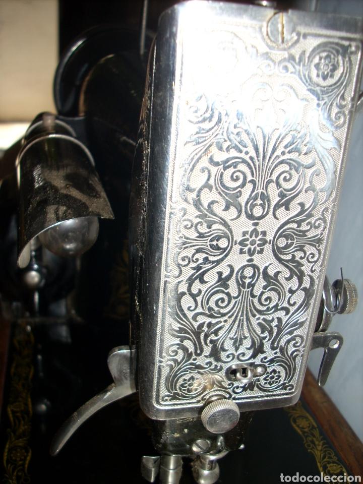 Antigüedades: Maquina de Coser Singer con Motor. - Foto 9 - 171262982