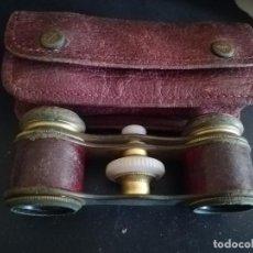 Antigüedades: ANTIGUOS PRISMATICOS DE OPERA Y DE TEATRO CON SU FUNDA ORIGINAL. Lote 171281242