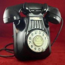 Teléfonos: ANTIGUO TELÉFONO BAQUELITA ESPAÑOL, 5522EZ, DE STANDARD ELÉCTRICA, PARA LA CTNE.. Lote 171310865
