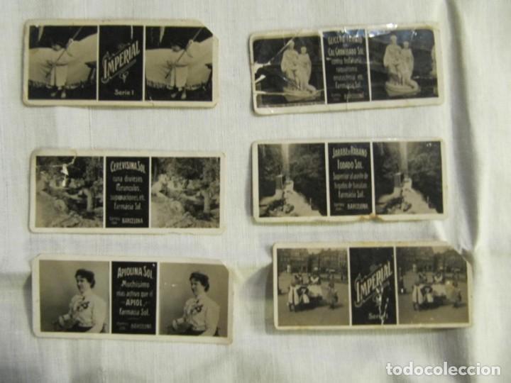 Antigüedades: VISOR ESTEREOSCOPICO IMPERIAL - CON 65 VISTAS CON PUBLICIDAD DE FARMACIA SOL -BARCELONA - MODERNISTA - Foto 6 - 171352319