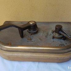 Antigüedades: CONSOLA, TABLERO DE MANDOS DE TRANVÍA SIEMENS, 1910. Lote 171359692