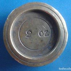 Antigüedades: PONDERAL INGLÉS DE 2 ONZAS. Lote 171361207