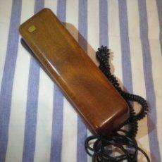 Téléphones: PRECIOSO TELÉFONO DE MADERA,SOLAC TELECOM,AÑOS 80. Lote 171374342