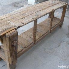 Antigüedades: BANCO DE CARPINTERO S. XIX. Lote 171377702