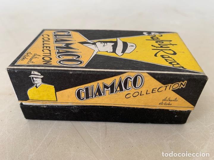 Antigüedades: MAQUINILLA AFEITAR CHAMACO COLLECTION SAFETY AÑOS 20 - Foto 10 - 171383960