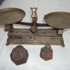 Antigüedades: BALANZA ANTIGUA. Lote 171398264