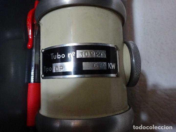 Antigüedades: Lote Tubo Rayos X mediados del S.XX - Foto 2 - 171414833