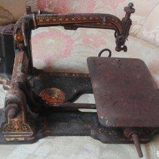 Antigüedades: MÁQUINA DE COSER BRADBURY´S WELLINGTON WORKS ENGLAND. Lote 171415929
