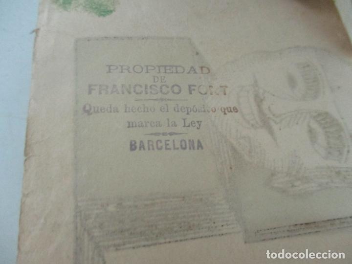 Antigüedades: Antiguo Zootropo - Cine - con 40 Tiras, Películas Francisco Font, Barcelona - Finales S. XIX - Foto 20 - 171417548