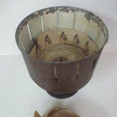 Antigüedades: ANTIGUO ZOOTROPO - CINE - CON 40 TIRAS, PELÍCULAS FRANCISCO FONT, BARCELONA - FINALES S. XIX. Lote 171417548