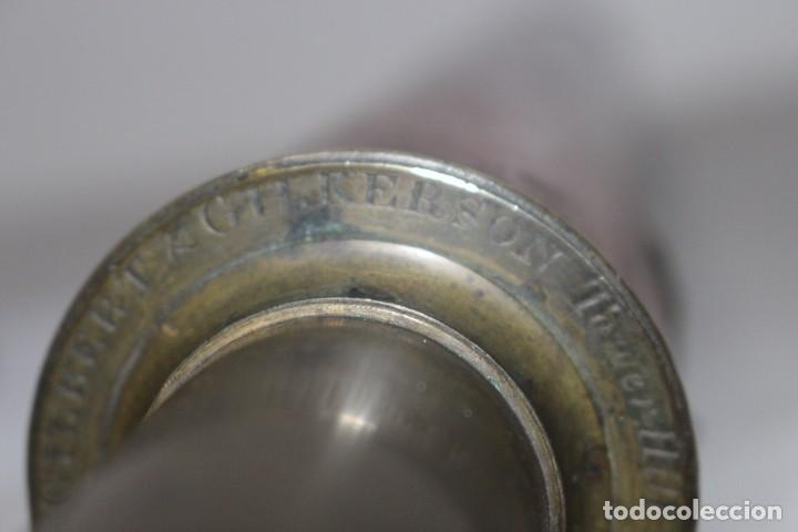 Antigüedades: CATALEJO DEL SIGLO XIX, GILBERT & GILKERSON. TOWER HILL LONDON+ACCESORIOS - Foto 5 - 171428540