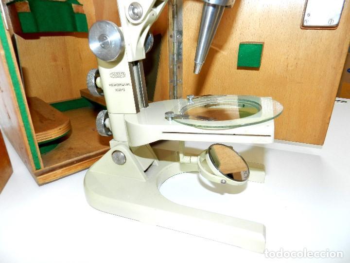 Antigüedades: Microscopio Meopta - Foto 3 - 171455078