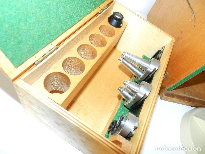 Antigüedades: Microscopio Meopta - Foto 5 - 171455078