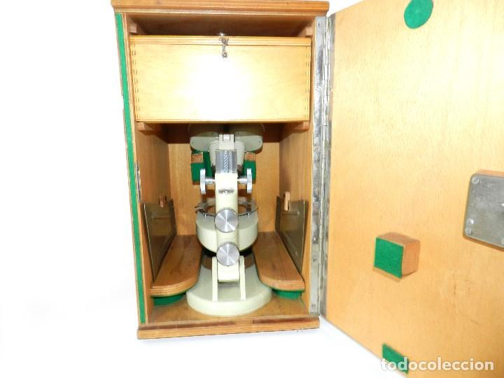 Antigüedades: Microscopio Meopta - Foto 6 - 171455078