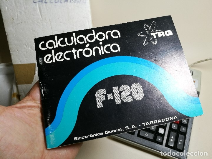 Antigüedades: ANTIGUA CALCULADORA ELECTRONICA TRQ .F-120 (Talleres Radioelectricos Querol) VILASECA TARRAGONA - Foto 8 - 171455964