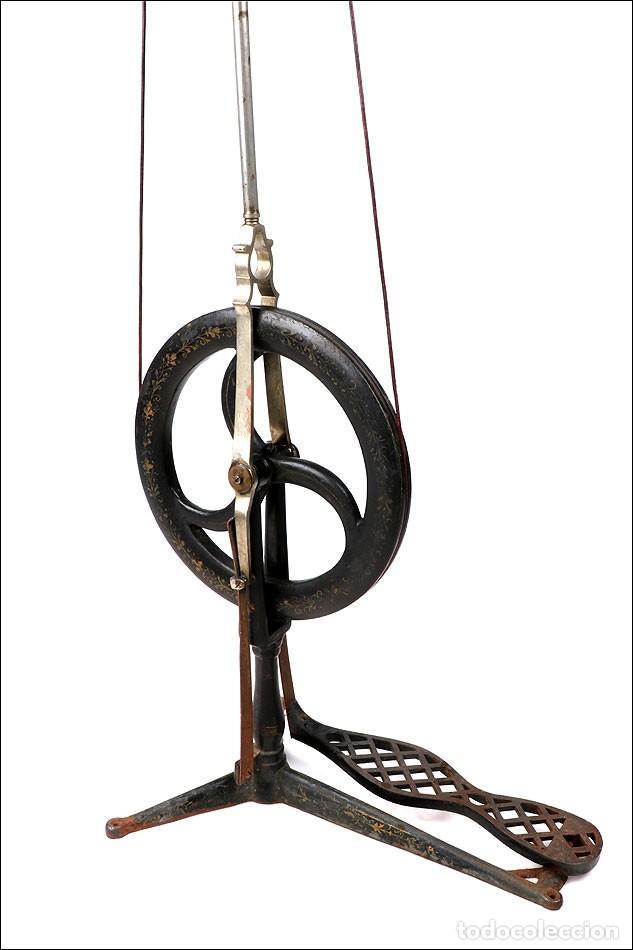 Antigüedades: Antiguo Torno de Dentista a Pedal. Circa 1900 - Foto 4 - 171493839