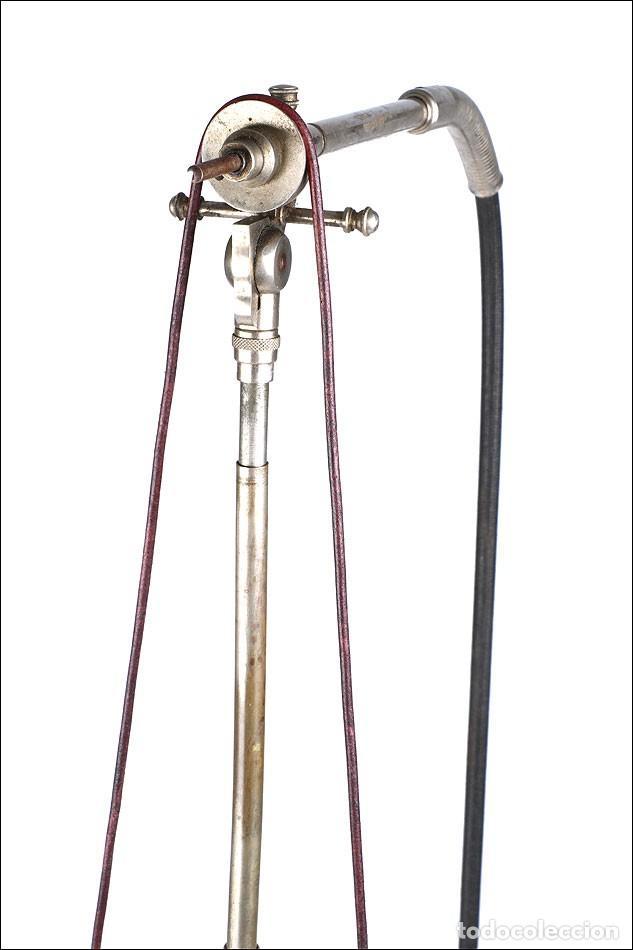 Antigüedades: Antiguo Torno de Dentista a Pedal. Circa 1900 - Foto 11 - 171493839