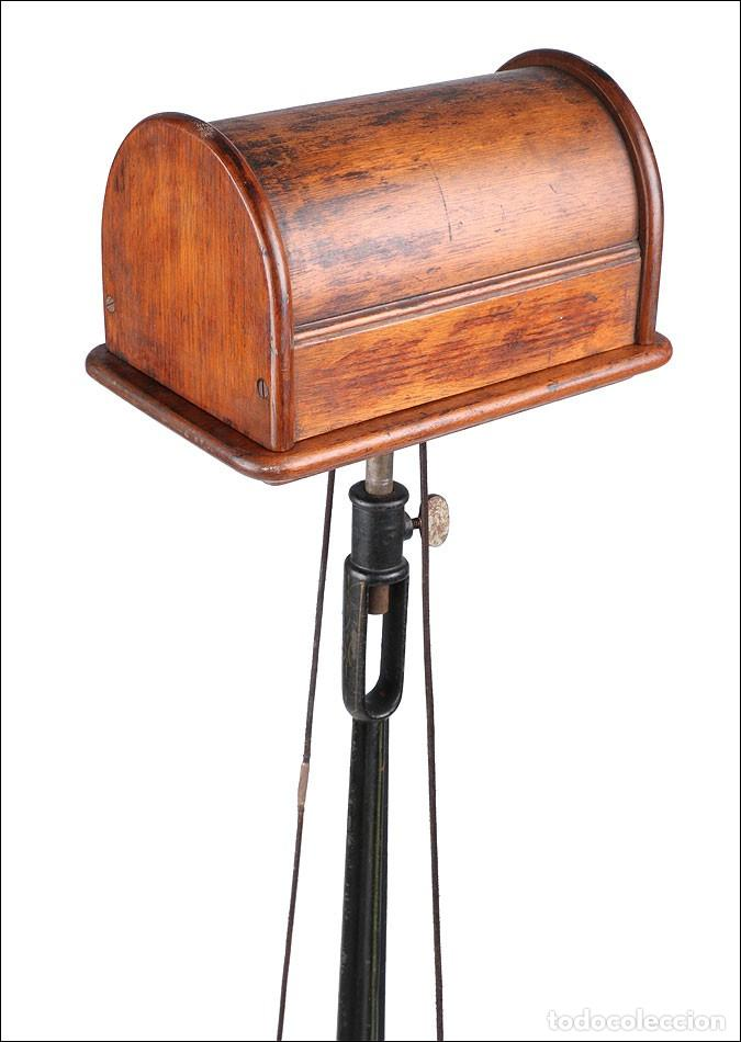 Antigüedades: Antiguo Pulidor de Dentista a Pedal. Circa 1900 - Foto 10 - 171494035