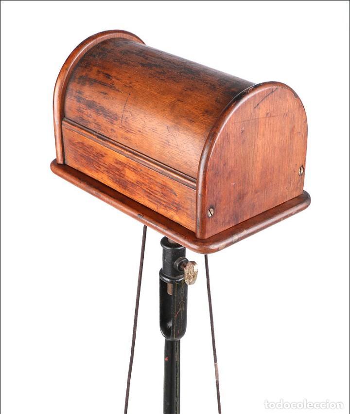 Antigüedades: Antiguo Pulidor de Dentista a Pedal. Circa 1900 - Foto 11 - 171494035