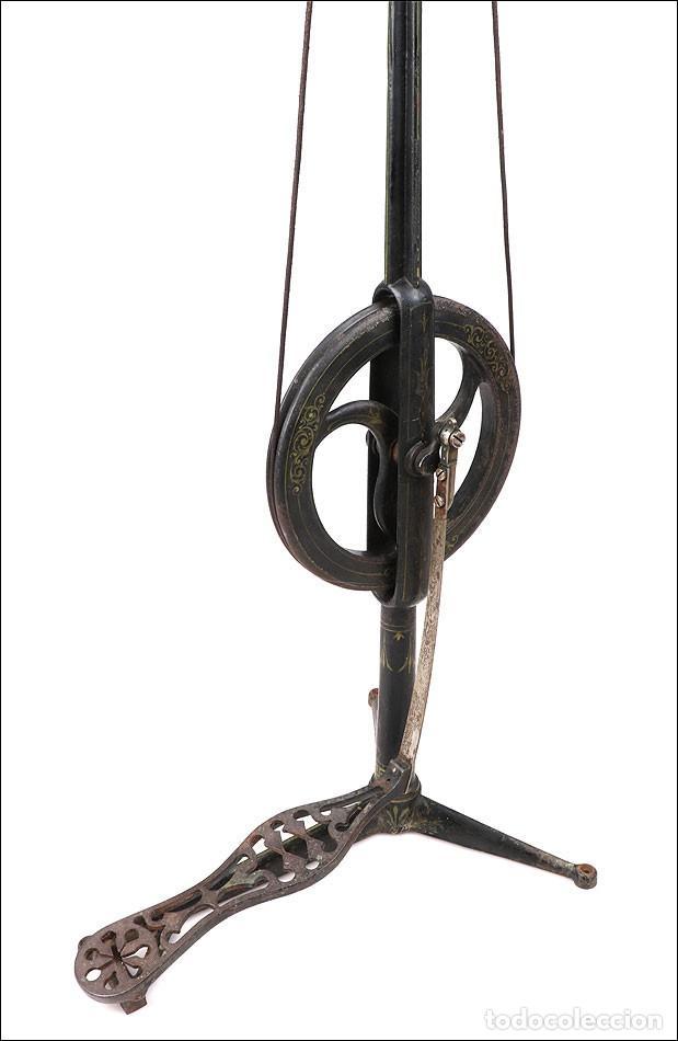 Antigüedades: Antiguo Pulidor de Dentista a Pedal. Circa 1900 - Foto 12 - 171494035