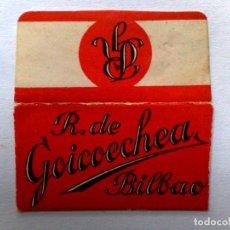 Antigüedades: HOJA DE AFEITAR ANTIGUA,R.DE GOICOECHEA,BILBAO. Lote 171497509