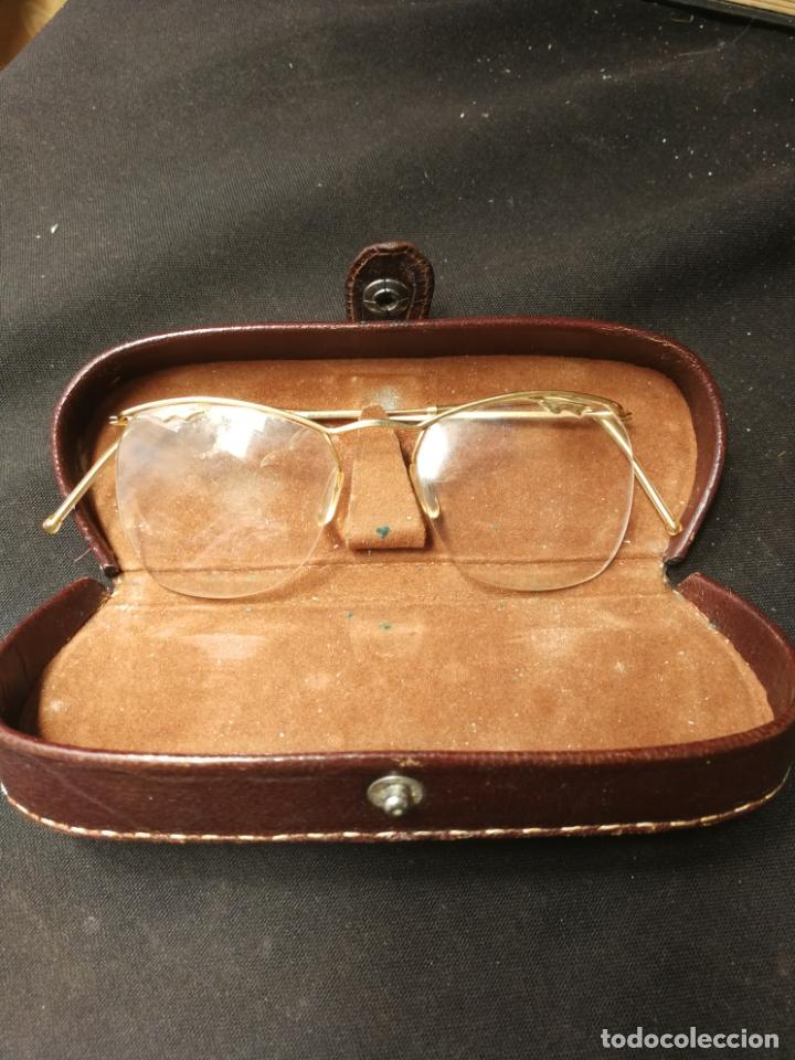 ANTIGUAS GAFAS DE SOL MARCA AMOR (Antigüedades - Técnicas - Instrumentos Ópticos - Gafas Antiguas)