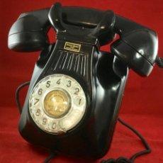 Teléfonos: ANTIGUO TELÉFONO BAQUELITA ESPAÑOL, 5522EZ, DE STANDARD ELÉCTRICA, PARA LA CTNE. Lote 171509817
