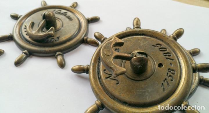 Antigüedades: CINCO TIRADORES METAL - Foto 4 - 171553573