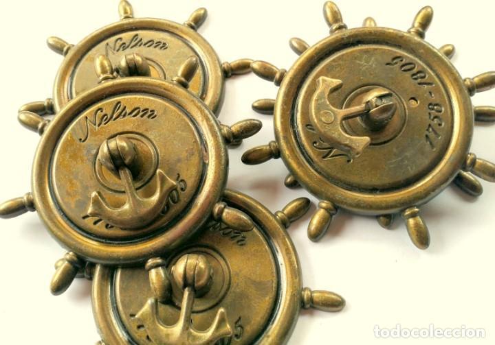 Antigüedades: CINCO TIRADORES METAL - Foto 5 - 171553573