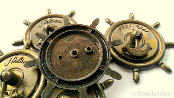 Antigüedades: CINCO TIRADORES METAL - Foto 6 - 171553573
