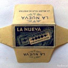 Antiquités: HOJA DE AFEITAR ANTIGUA,LA NUEVA. Lote 171570448