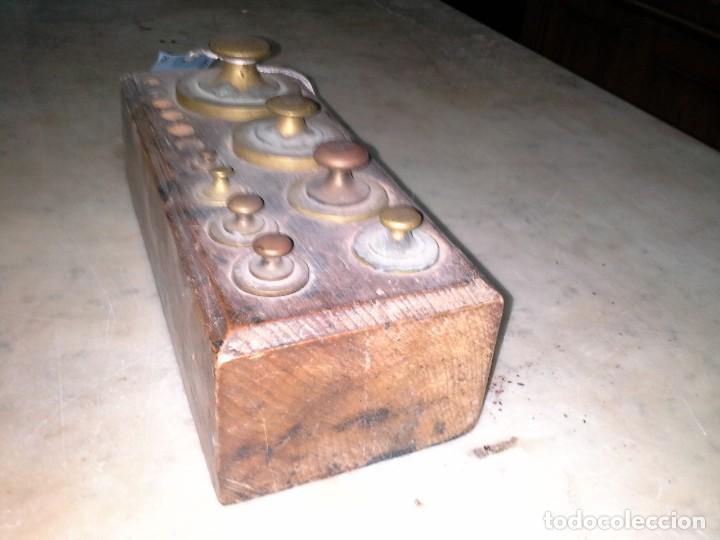 Antigüedades: JUEGO PESAS - Foto 5 - 171607124