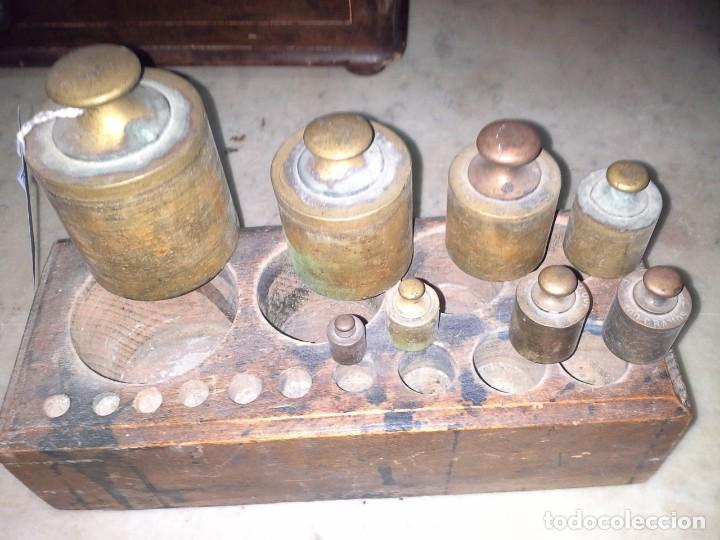Antigüedades: JUEGO PESAS - Foto 7 - 171607124
