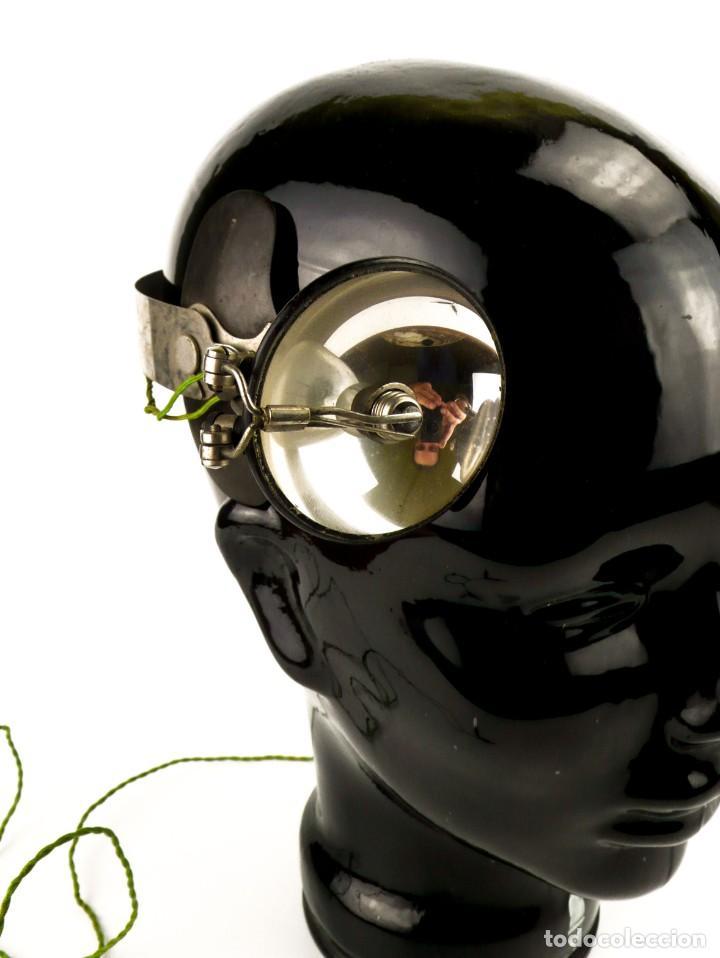 Antigüedades: Luz visor de médico - luz de funcionamiento- medicina - Principios S.XX - Foto 3 - 171634307