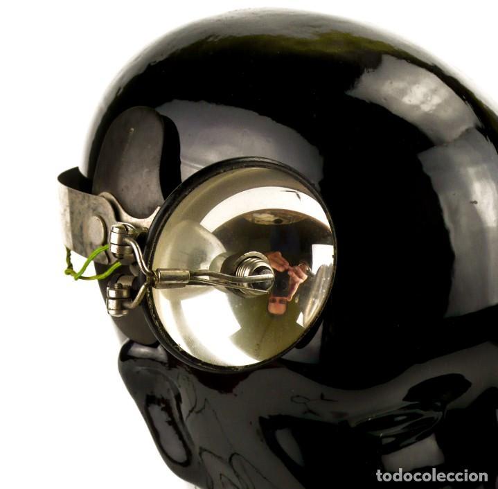 Antigüedades: Luz visor de médico - luz de funcionamiento- medicina - Principios S.XX - Foto 4 - 171634307