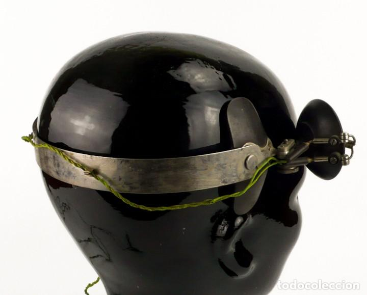 Antigüedades: Luz visor de médico - luz de funcionamiento- medicina - Principios S.XX - Foto 8 - 171634307