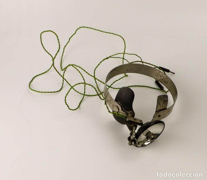 Antigüedades: Luz visor de médico - luz de funcionamiento- medicina - Principios S.XX - Foto 11 - 171634307
