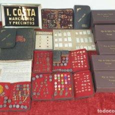 Antigüedades: COLECCIÓN DE CATALOGOS DE MARCHAMOS Y PRECINTOS. I. COSTA. ESPAÑA. CIRCA 1900. . Lote 171651483